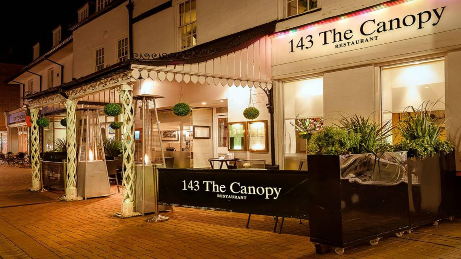143 The Canopy Restaurant