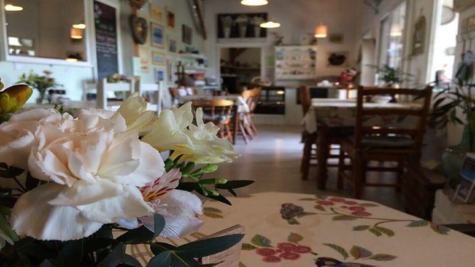 Garden Café at Somerset Flower Farm