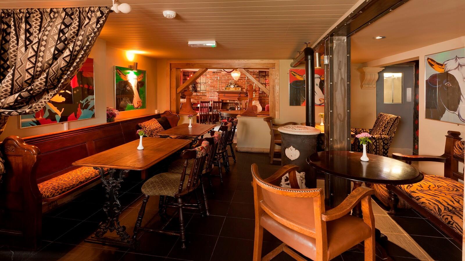 The Woodmancote Pub