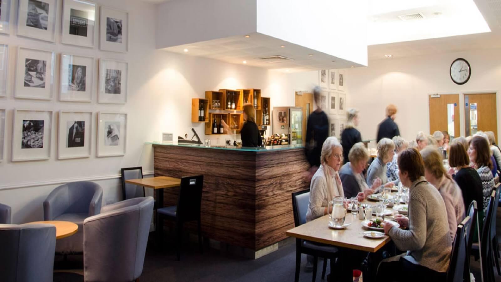 Skylight Restaurant at Harlow College
