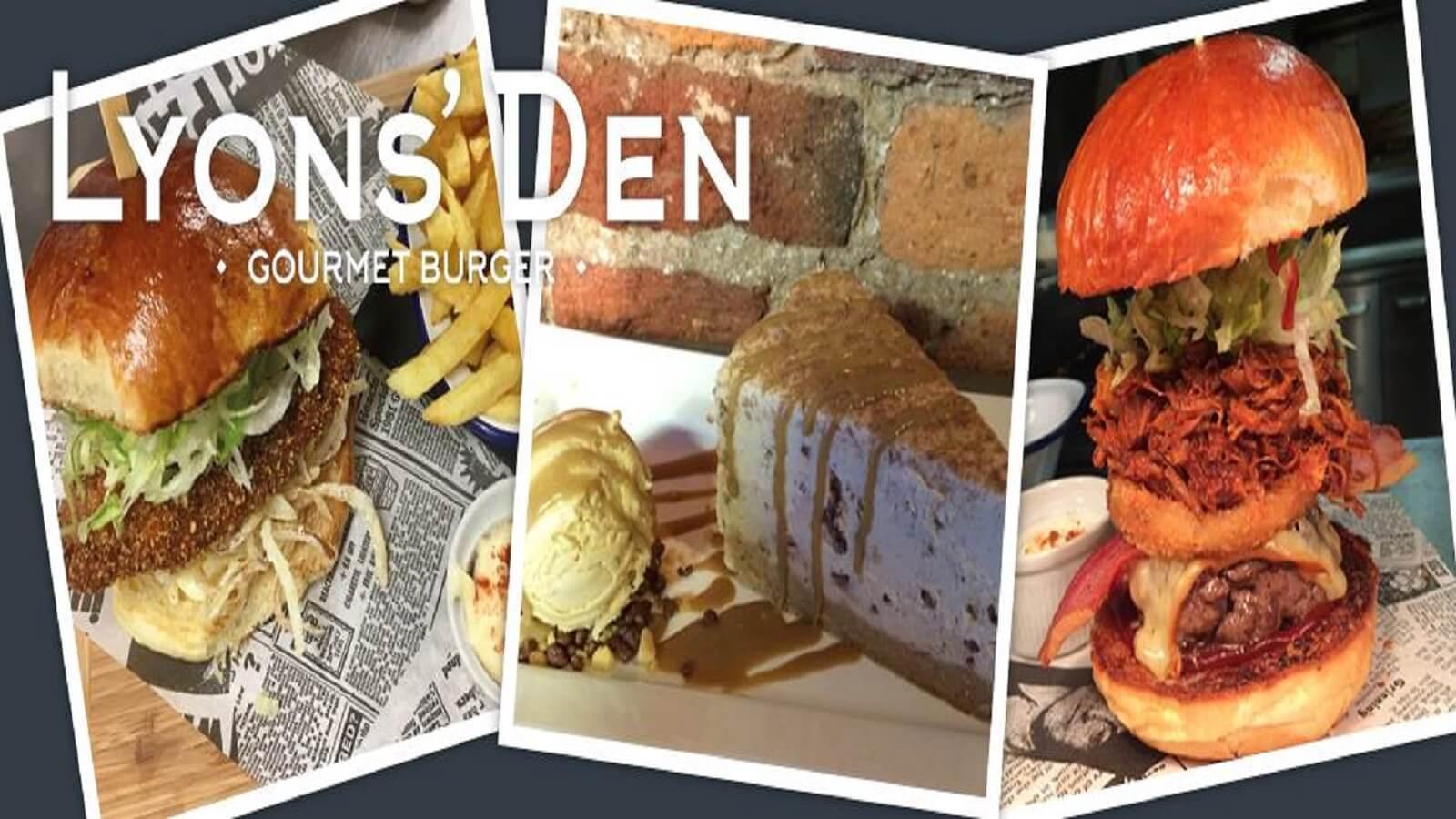 Lyon Den Gourmet Burger