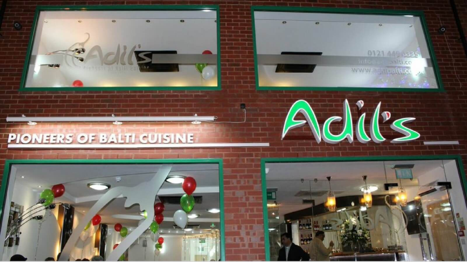 Adil's – The Pioneers of Balti Cuisine
